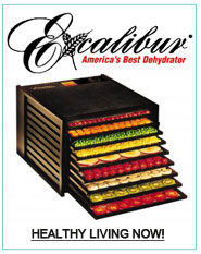excalibur food dehydrator healthy snacks raw breads raw crackers fruit leathers beef jerky quick nutrition