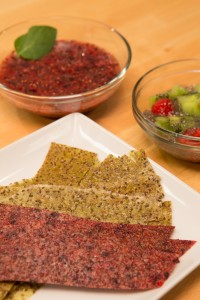This recipe can be made into a yogurt, an oatmeal type dish, and fruit leathers.